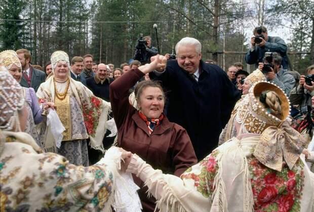 Ельцин vs Зюганов, Выборы - 96