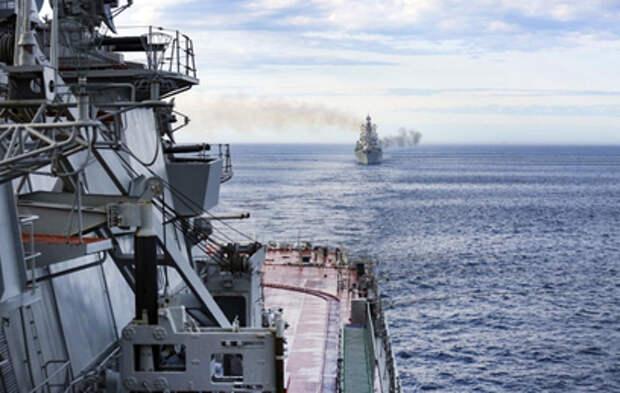 Российские военные отрабатывают в Тихом океане методы борьбы с беспилотниками