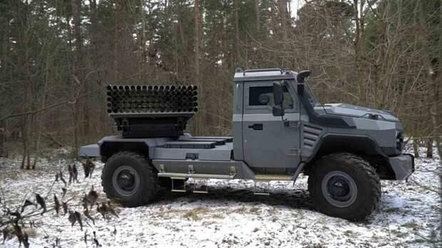 ВСУ использовали на Донбассе белорусские РСЗО «Флейта»