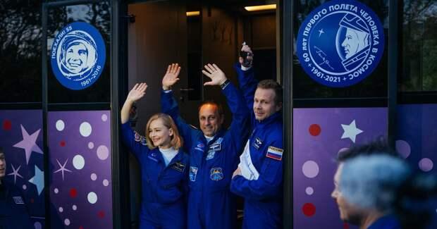 Звезды в космосе: как Пересильд отправили на съемки на МКС