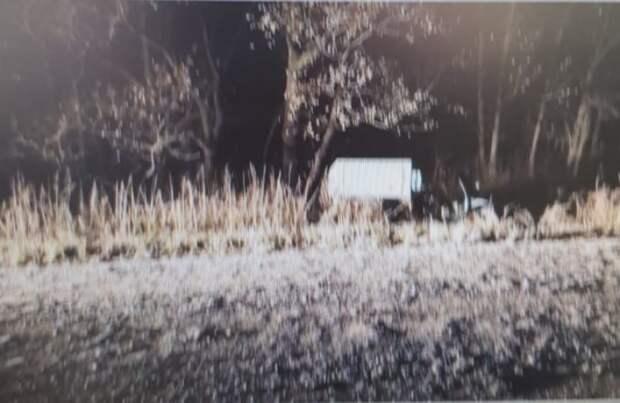 Мотороллер с людьми перевернулся на дороге под Уссурийском