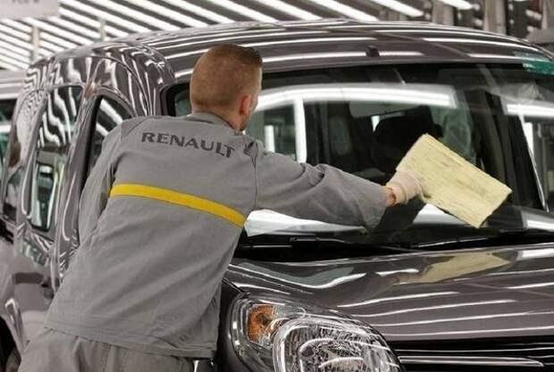 Renault сокращает производство из-за дефицита микрочипов