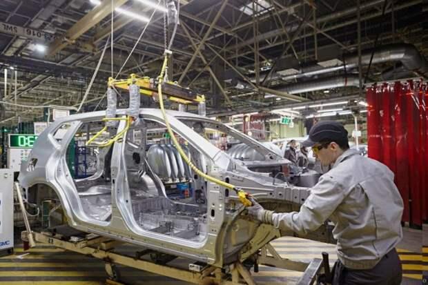 Как собирают автомобили на заводе Nissan в Петербурге nissan, авто, автозавод, автомобили, завод, производство, сборка, цех