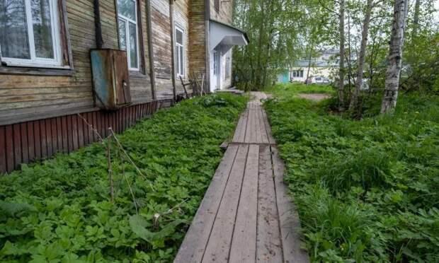 Наремонт деревянных тротуаров вЛомоносовском округе Архангельска потратят миллион рублей