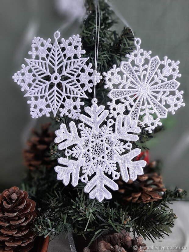 Очаровательные снежинки, которые можно легко связать крючком