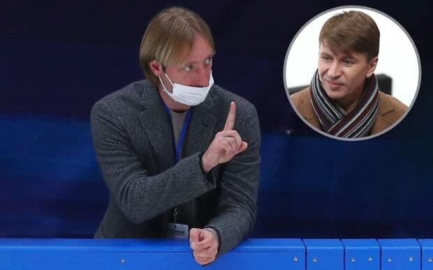 Плющенко ответил Ягудину, высмеявшему конфликт его академии и «Самбо-70», где работает Тутберидзе