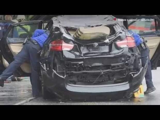 На МКАД десятки машин попали в ДТП (видео)