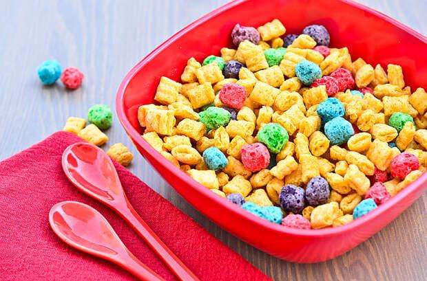 Дневная норма сахара — сухие завтраки