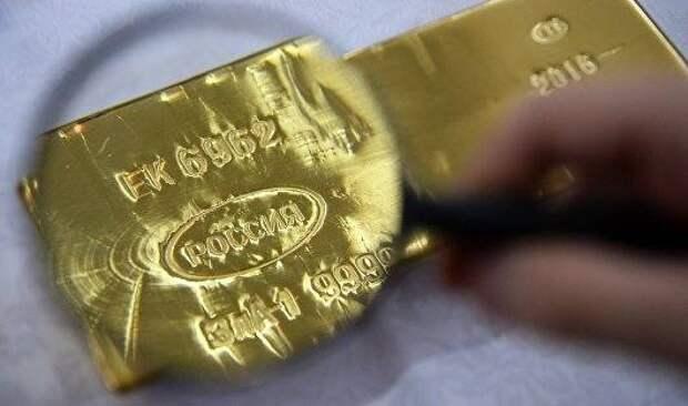 Цены на золото в понедельник продолжили рост