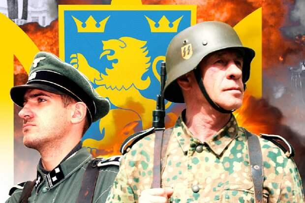 Украинские телезрители против первого марша SS в Киеве