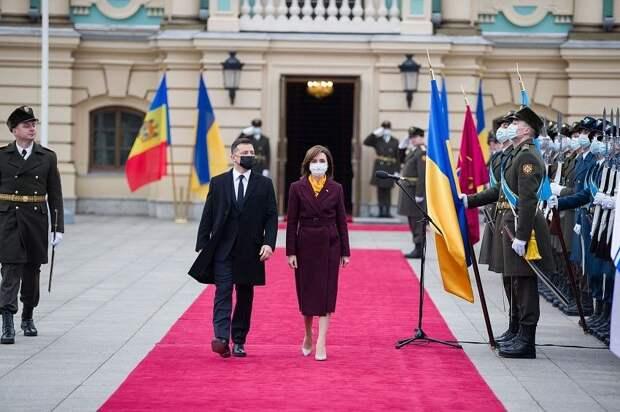 Первый блин комом: об «эпохальном» визите Майи Санду в Украину