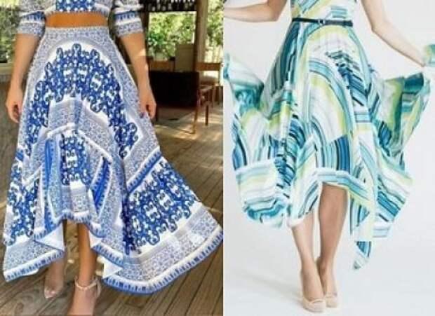 Шикарная длинная юбка выкройки