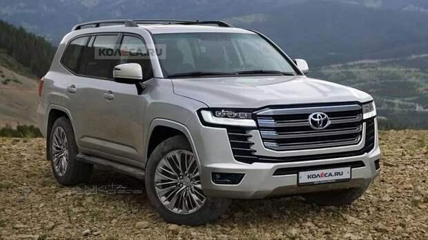 Названы сроки премьеры Toyota Land Cruiser следующего поколения