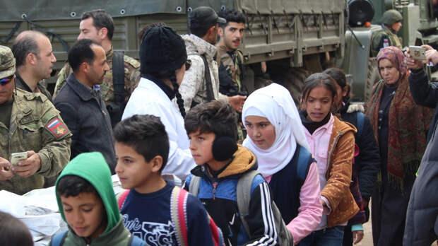 Россия призвала ООН репатриировать детей, содержащихся в сирийских лагерях