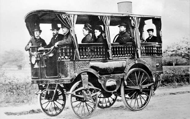Вспоминаем первые автомобили: прелюдия для телеги смотором