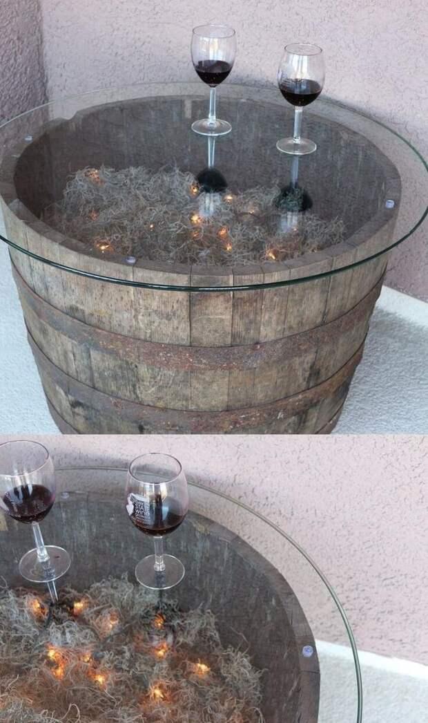 Идеи повторного использования старых бочек