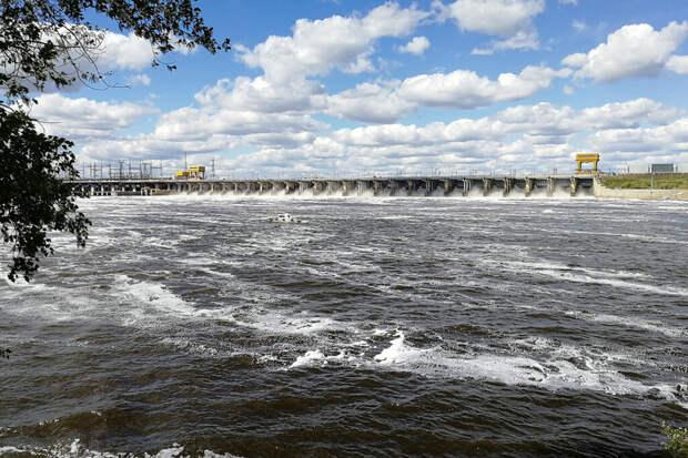 Из-за жаркого лета Волга рискует сильно обмелеть