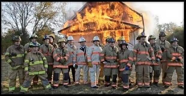В США пожарный отказался тушить дом бывший жены