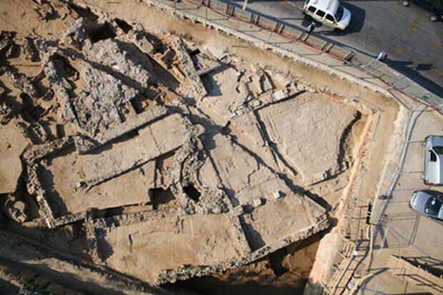 Под Салониками в Греции нашли древний город
