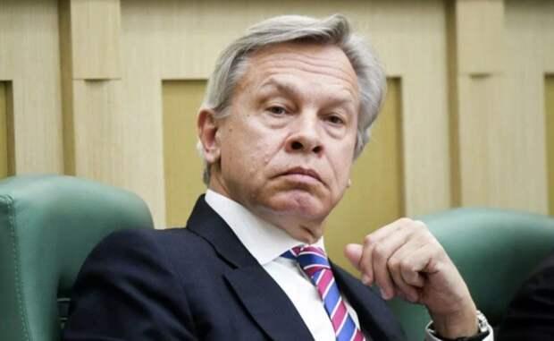 Пушков рекомендовал главе Латвии искать загрузку для портов в Аргентине, Катаре и Индии