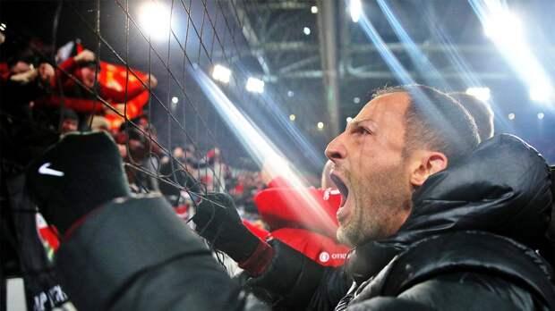 Тедеско обратился к болельщикам «Спартака»: «Я все еще ваш тренер на 100 процентов моего сердца»