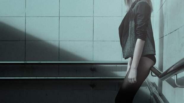 девушка на фото