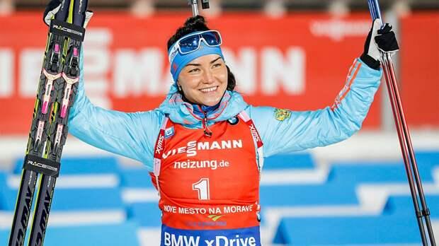 Акимова назвала причину единственного промаха в эстафете на этапе Кубка мира в Антхольце