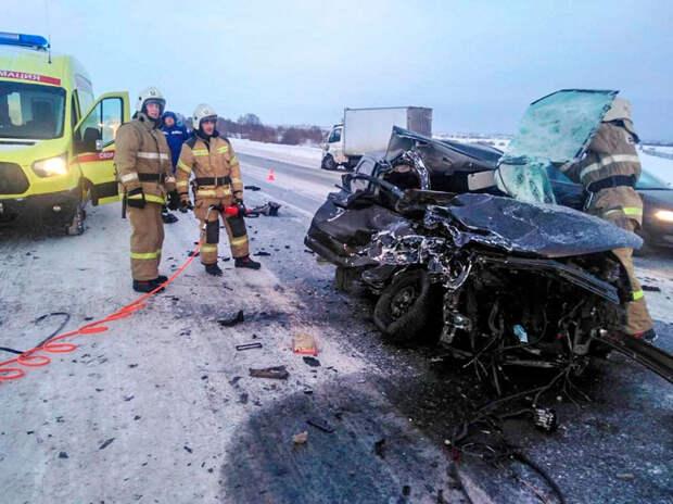 На курганской трассе произошло смертельное ДТП. «Двигатель вылетел на обочину».