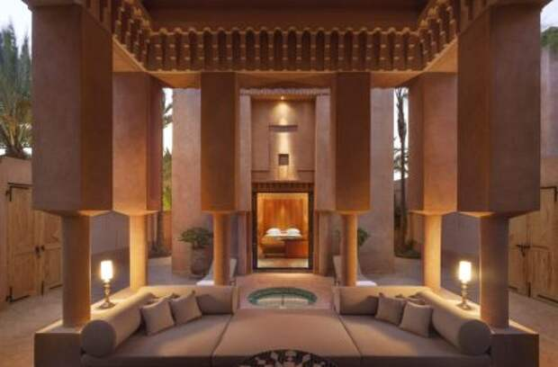 Восточный рай в отеле Amanjena в Марокко
