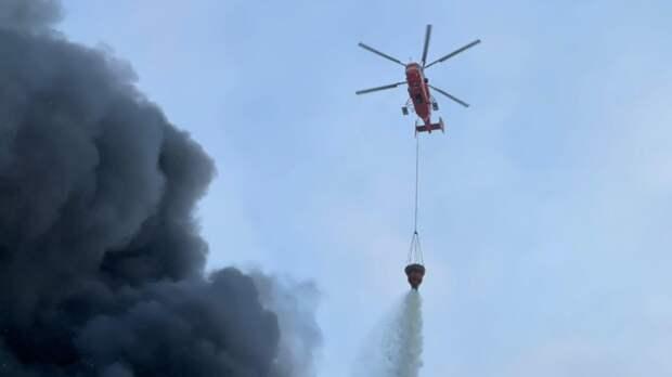 Двое погибли при крушении пожарного вертолета на юго-западе Китая