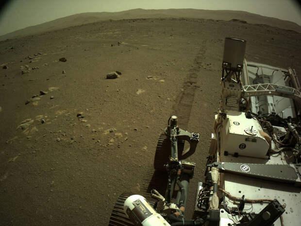 Марсоход Perseverance поделился новыми звуками Марса