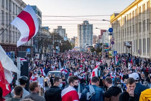 Протесты в Белоруссии принимают радикальную форму