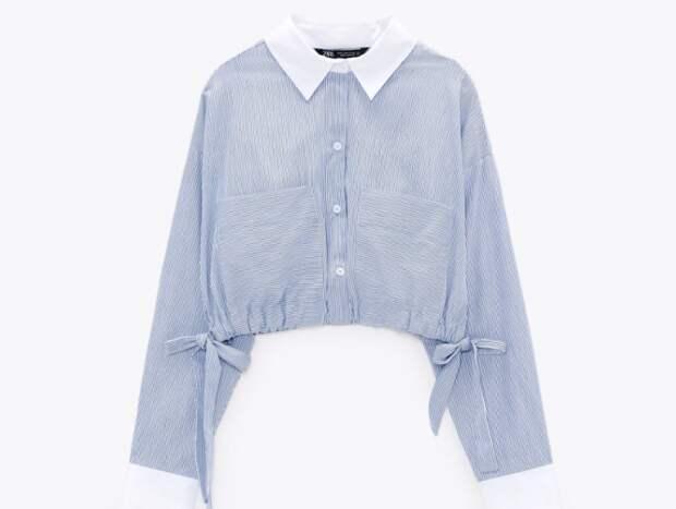 Идея переделки рубашки от Zara