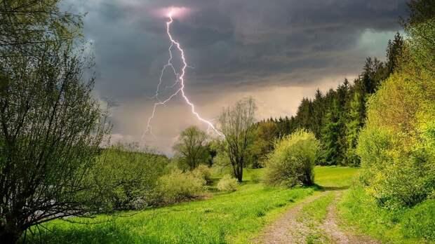 Штормовое предупреждение из-за грозы иурагана объявили вРостовской области 29мая