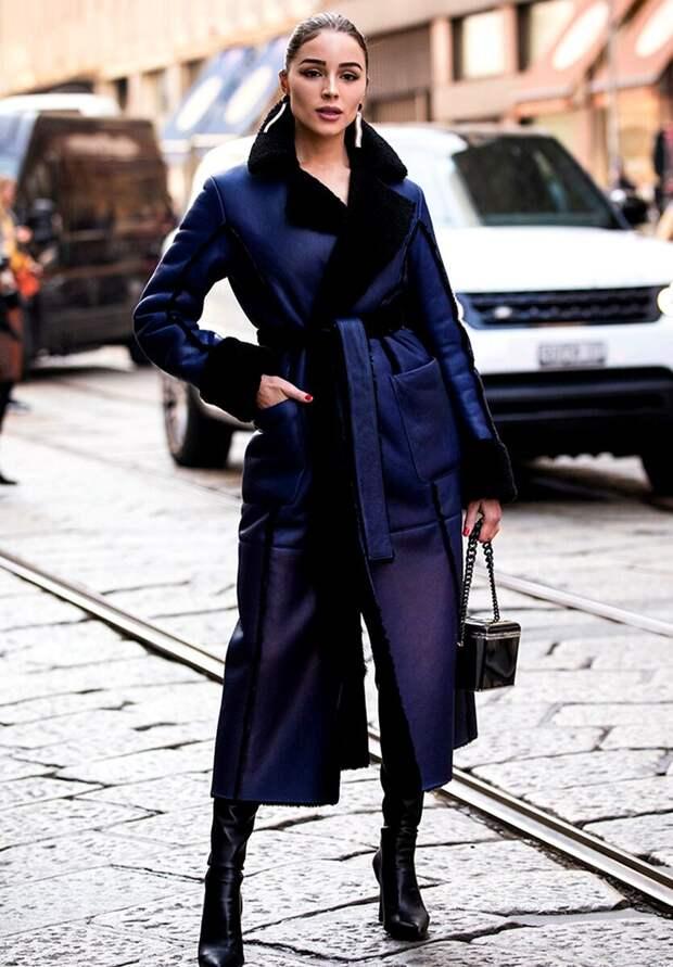 Какую дубленку носить в осенне-зимний сезон, чтобы выглядеть стильно. Тренды 2020