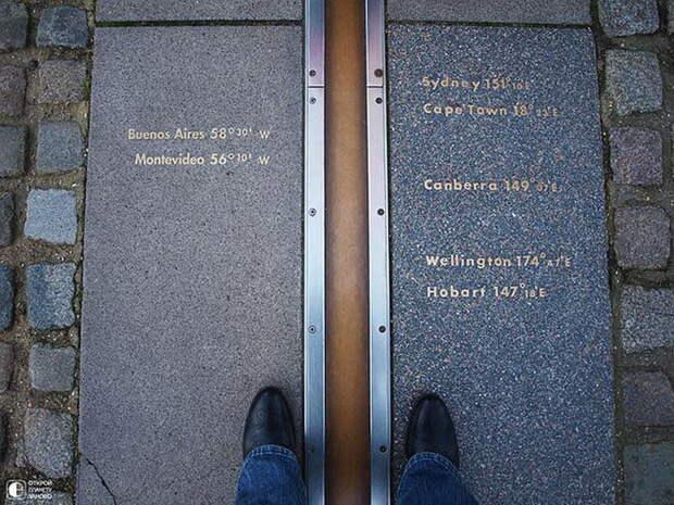 Нулевой меридиан в Лондоне. 10 мест для загадывания желаний