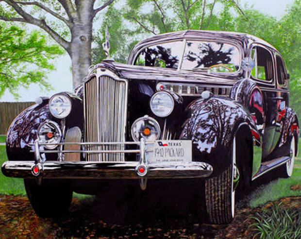 Машина маслом: автомобили в живописи