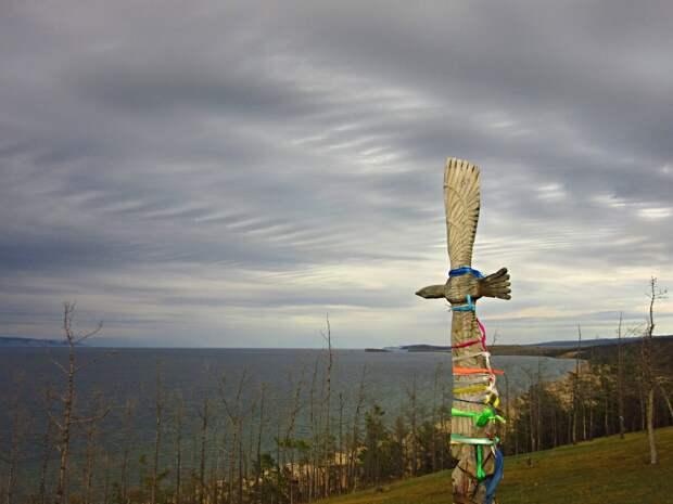 Остров Ольхон, что-то из шаманского культа бурят.