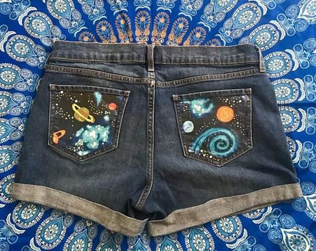 вещи одежда с планетами звездами