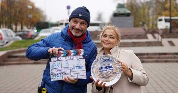 Ирина Пегова на съемках продолжения «Акушерки»: первые фото