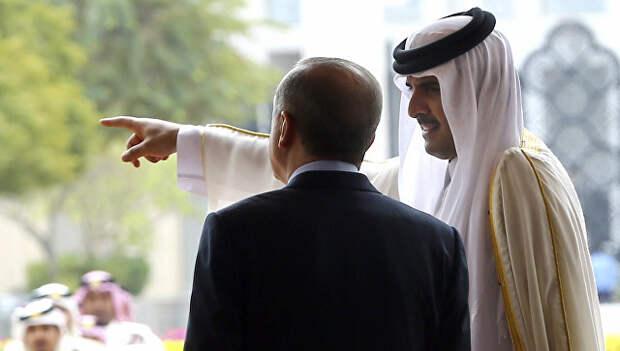Большая игра на Ближнем Востоке: Турция присоединяется к Ирану и Катару