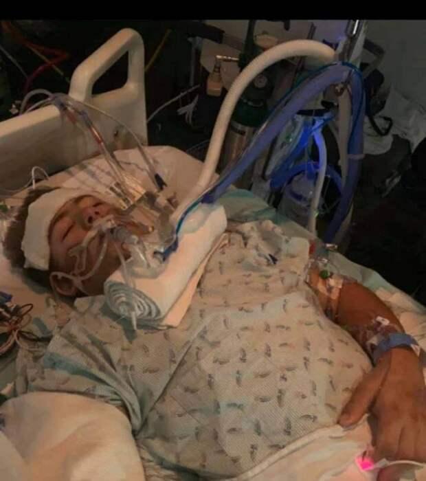 Победитель смерти: как 19-летний американец живет после ампутации нижней части тела
