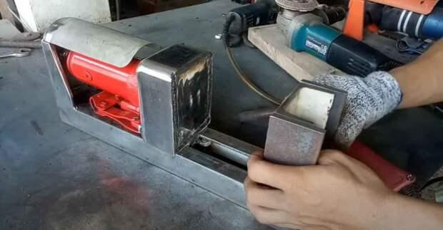 Слесарные тиски с гидравлическим приводом — лучшее решение для домашней мастерской