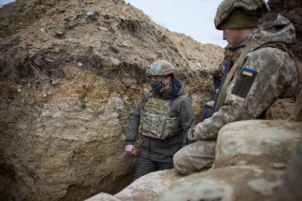 Зеленский испугался русских агентов на встрече с госсекретарём США