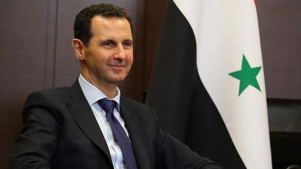 Президент Сирии поздравил Путина с Днем Победы