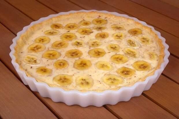 Картинки по запросу банановый пирог с творогом