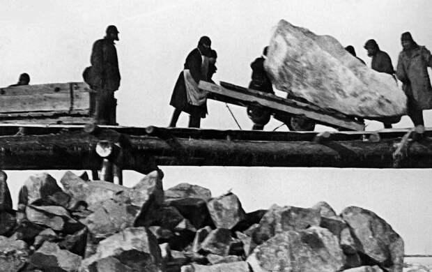 Запрещённые в СССР фото сталинских концлагерей.