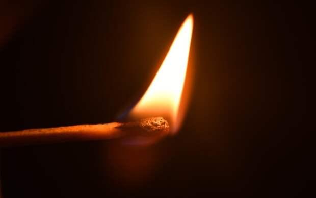 В Рязанской области произошло 10 пожаров из-за детской шалости