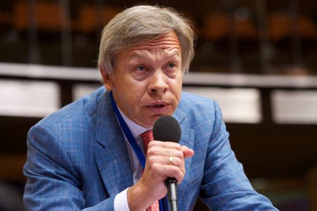 Пушков высмеял претензии Киева к Европе из-за Крыма