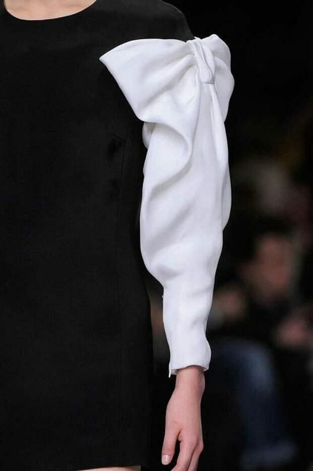 Необычные рукава и манжеты (снова)